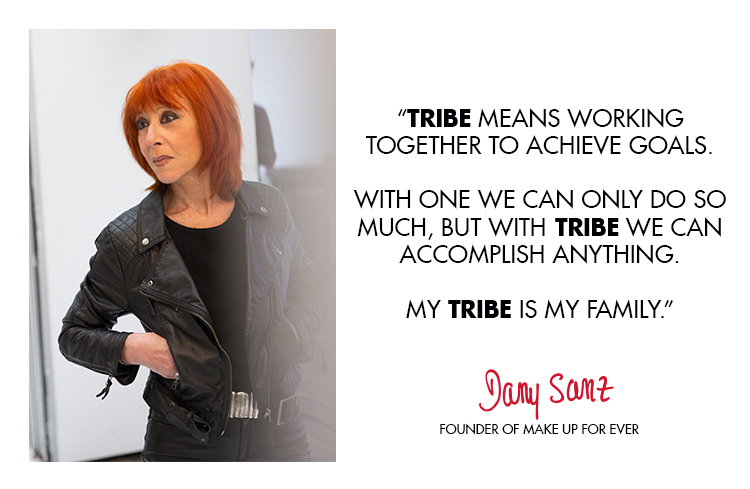 Tribe means working together to achieve goals