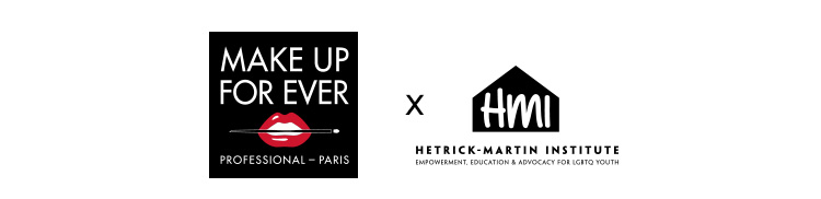 Make Up for Ever partners with Hetrick-Martin Institute